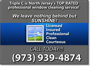 Morris County Window Cleaning Banner