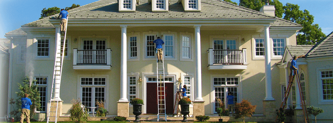 Morris County window cleaning and pressure washing
